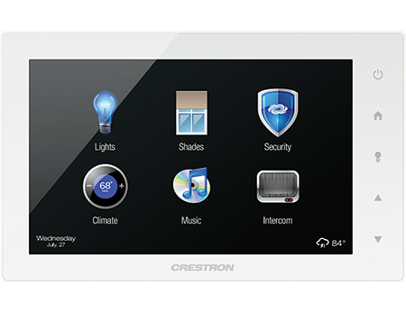 crestron touchpanel device