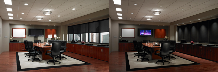 Can Motorized Shades Make Your Business Cool?